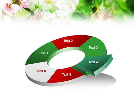 Blooming Cherry Tree PowerPoint Template Slide 19