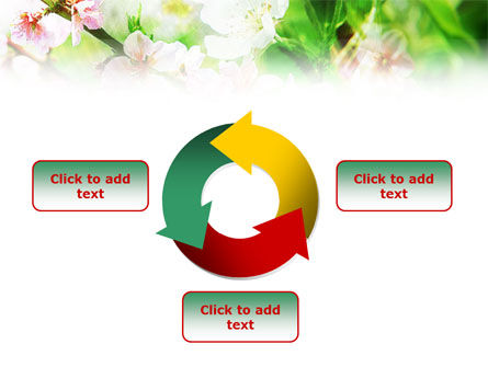 Blooming Cherry Tree PowerPoint Template Slide 9