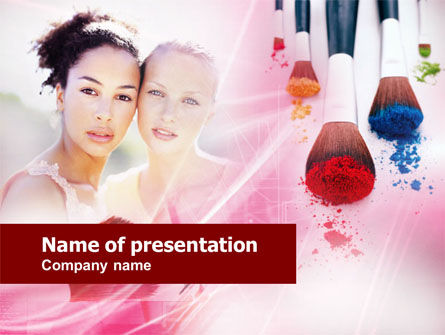 Makeup Lessons PowerPoint Template