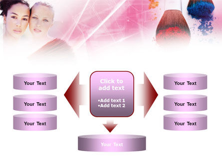 Makeup Lessons PowerPoint Template Slide 13