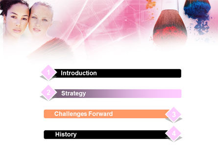 Makeup Lessons PowerPoint Template Slide 3