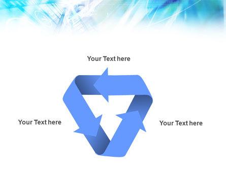 Blue Movie Strip PowerPoint Template Slide 10