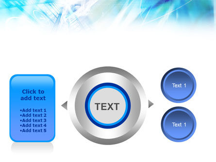 Blue Movie Strip PowerPoint Template Slide 12