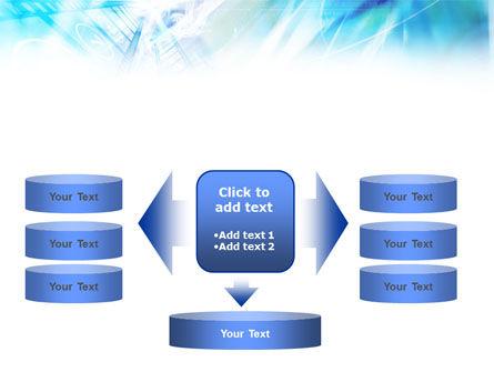 Blue Movie Strip PowerPoint Template Slide 13