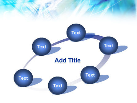 Blue Movie Strip PowerPoint Template Slide 14
