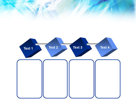 Blue Movie Strip PowerPoint Template Slide 18