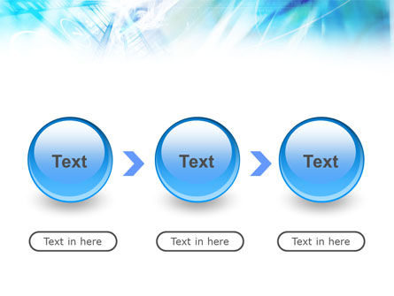 Blue Movie Strip PowerPoint Template Slide 5