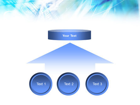 Blue Movie Strip PowerPoint Template Slide 8