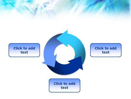 Blue Movie Strip PowerPoint Template Slide 9