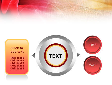 Red Cloth PowerPoint Template Slide 12