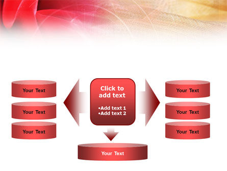 Red Cloth PowerPoint Template Slide 13