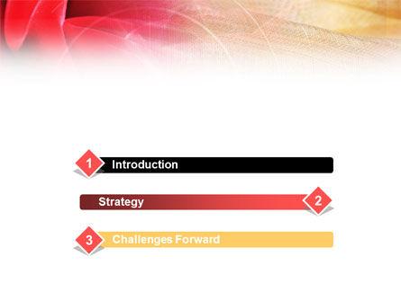 Red Cloth PowerPoint Template Slide 3