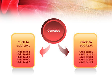 Red Cloth PowerPoint Template, Slide 4, 01211, Abstract/Textures — PoweredTemplate.com