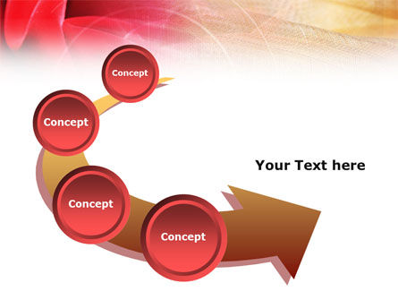 Red Cloth PowerPoint Template Slide 6