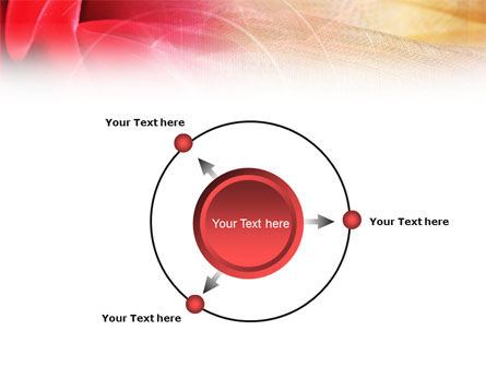 Red Cloth PowerPoint Template Slide 7