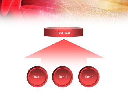 Red Cloth PowerPoint Template Slide 8