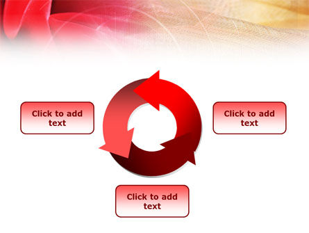 Red Cloth PowerPoint Template Slide 9