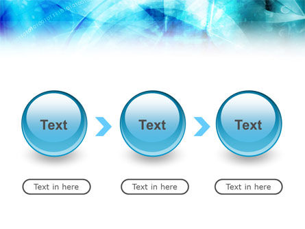 Aqua Abstract Theme PowerPoint Template Slide 5