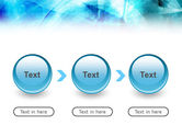 Aqua Abstract Theme PowerPoint Template#5