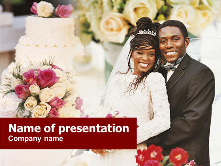 Wedding Theme PowerPoint Template, 01213, Holiday/Special Occasion — PoweredTemplate.com