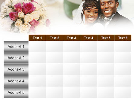 Wedding Theme PowerPoint Template Slide 15