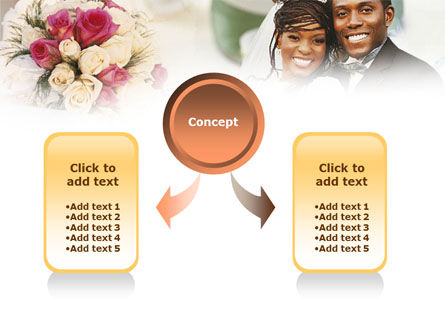 Wedding Theme PowerPoint Template, Slide 4, 01213, Holiday/Special Occasion — PoweredTemplate.com