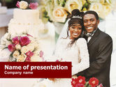 Holiday/Special Occasion: Wedding Theme PowerPoint Template #01213