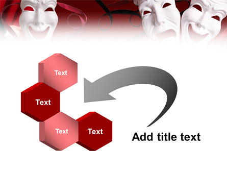 Theatrical Masks PowerPoint Template Slide 11
