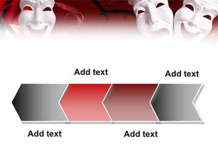 Theatrical Masks PowerPoint Template Slide 16