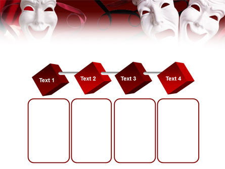 Theatrical Masks PowerPoint Template Slide 18