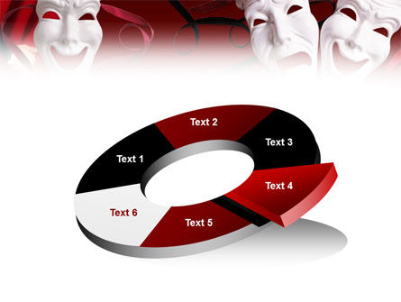 Theatrical Masks PowerPoint Template Slide 19