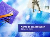 Construction: Modèle PowerPoint de ingéniérie de construction #01216