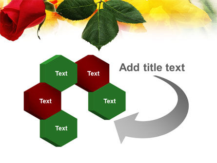 Red Rose PowerPoint Template Slide 11