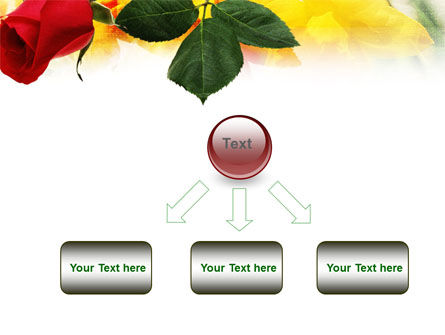 Red Rose PowerPoint Template Slide 8