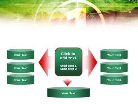 Green and Red PowerPoint Template Slide 13