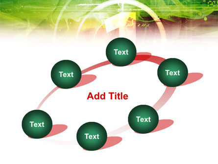 Green and Red PowerPoint Template Slide 14