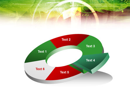 Green and Red PowerPoint Template Slide 19