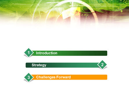 Green and Red PowerPoint Template Slide 3
