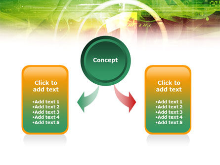 Green and Red PowerPoint Template Slide 4