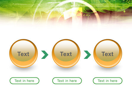 Green and Red PowerPoint Template Slide 5