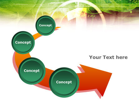 Green and Red PowerPoint Template Slide 6