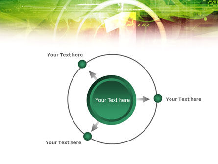 Green and Red PowerPoint Template Slide 7