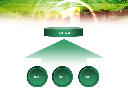 Green and Red PowerPoint Template Slide 8