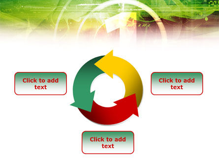 Green and Red PowerPoint Template Slide 9