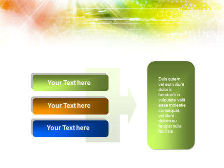 Colorful Technological Collage PowerPoint Template Slide 11