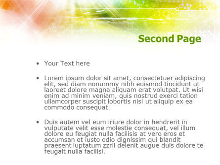 Colorful Technological Collage PowerPoint Template Slide 2