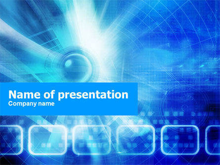 Web Theme PowerPoint Template, 01229, Business Concepts — PoweredTemplate.com