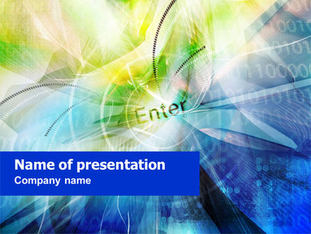 Enter the Technology PowerPoint Template