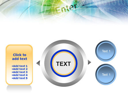 Enter the Technology PowerPoint Template Slide 12