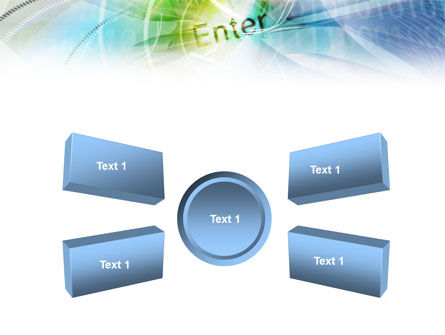 Enter the Technology PowerPoint Template Slide 6